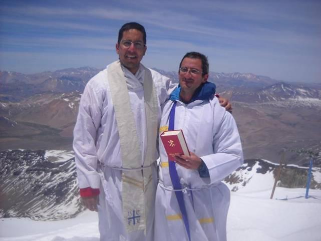 misa en la cumbre
