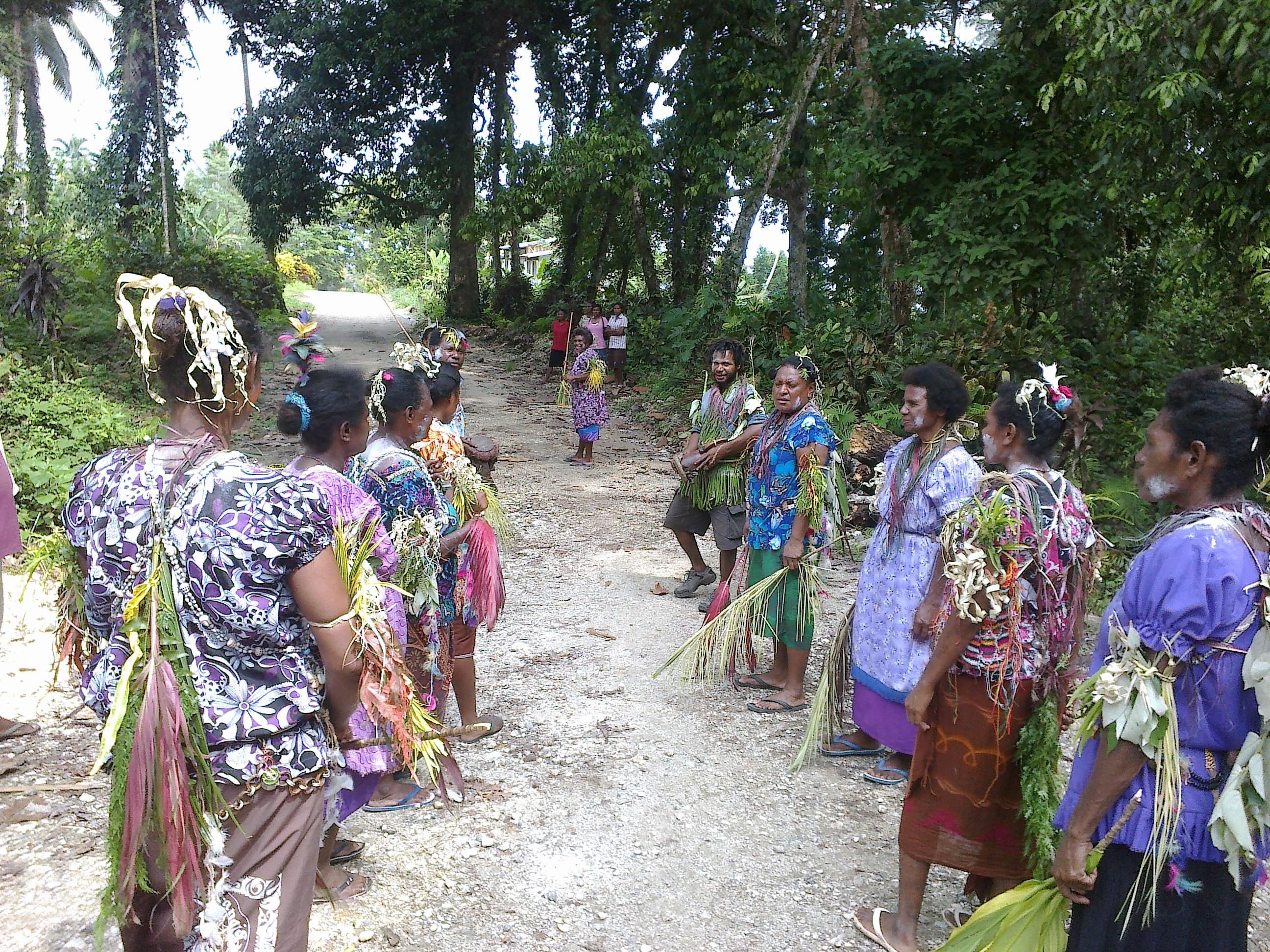 Recibimiento a los misioneros