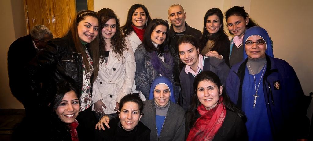 Festejos por la Pascua en nuestra misión en Alepo de Siria