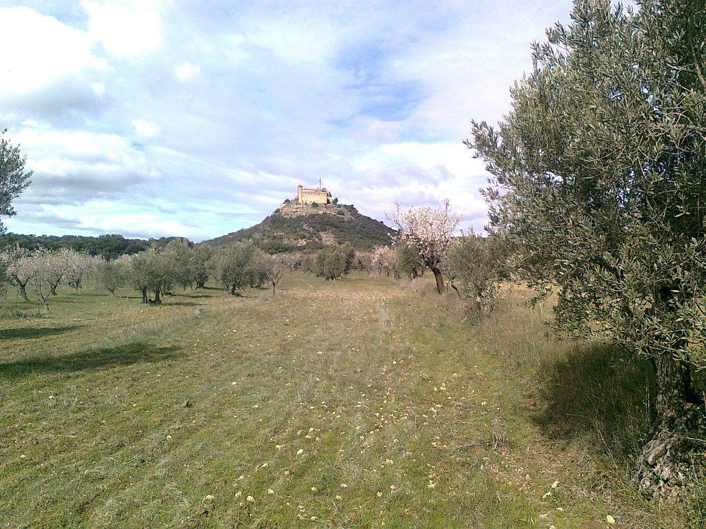 Una vista del monasterio del Pueyo