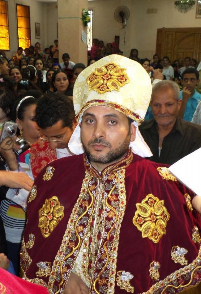 P. Athanasius recién ordenado