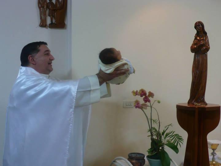 25 años de sacerdocio y 20 años misionero en Taiwán