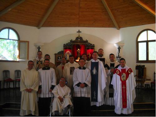 25 años de la rama monástica del IVE