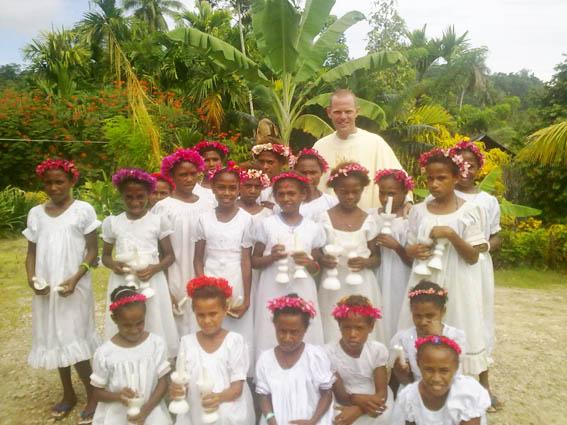 Semana Santa en Papúa Nueva Guinea