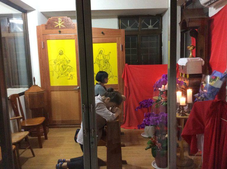 Un Jueves Santo en Taichung