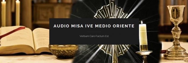 Nueva página web con audios de la misa en árabe