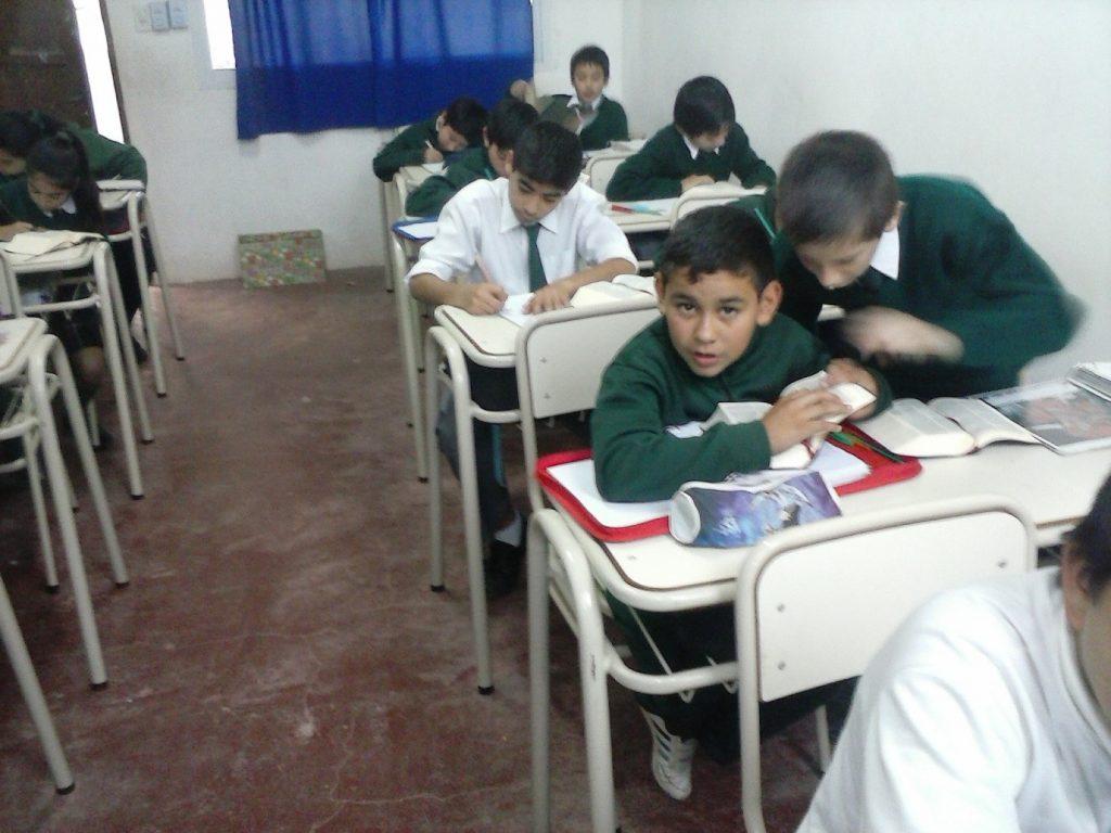 Los alumnos de 6 en clases de catequesis