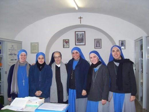 Algunas de las hermanas que colaboraron en el Proyecto Fabro durante estos años