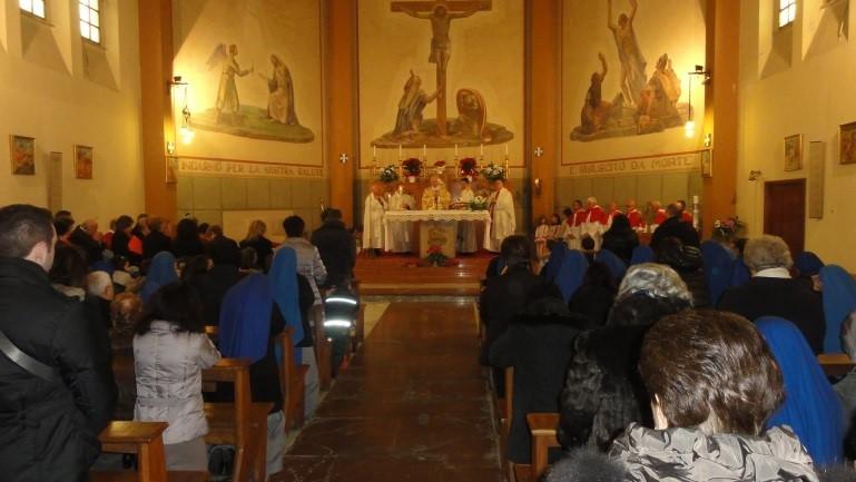 Santa Misa en la Parroquia San Donato de Celleno
