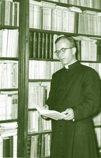 Padre Cornelio Fabro - Foto de 1956