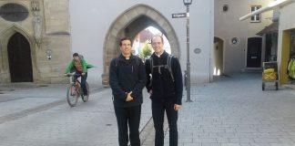 Nueva Mision del Instituto del Verbo Encarnado en Alemania: Santo Patrono, San Pedro Canisio. Misioneros P. William Duraney , P. Martín Villagrán