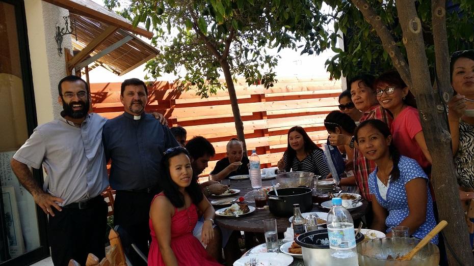 Almuerzo con el Grupo de la Divina Misericordia