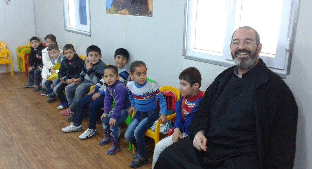 En el Jardín de Infantes de uno los Campamentos de Refugiados
