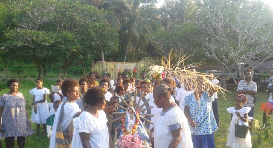 Mamá Luján en Papúa Nueva Guinea