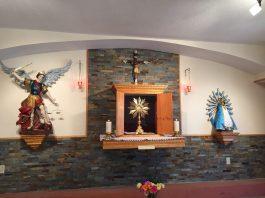 Adoración al Santísimo Sacramento que hemos empezado en Wauchula