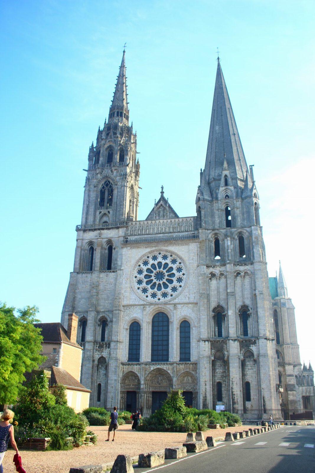 Catedral de Chartres (a las afueras de Paris)