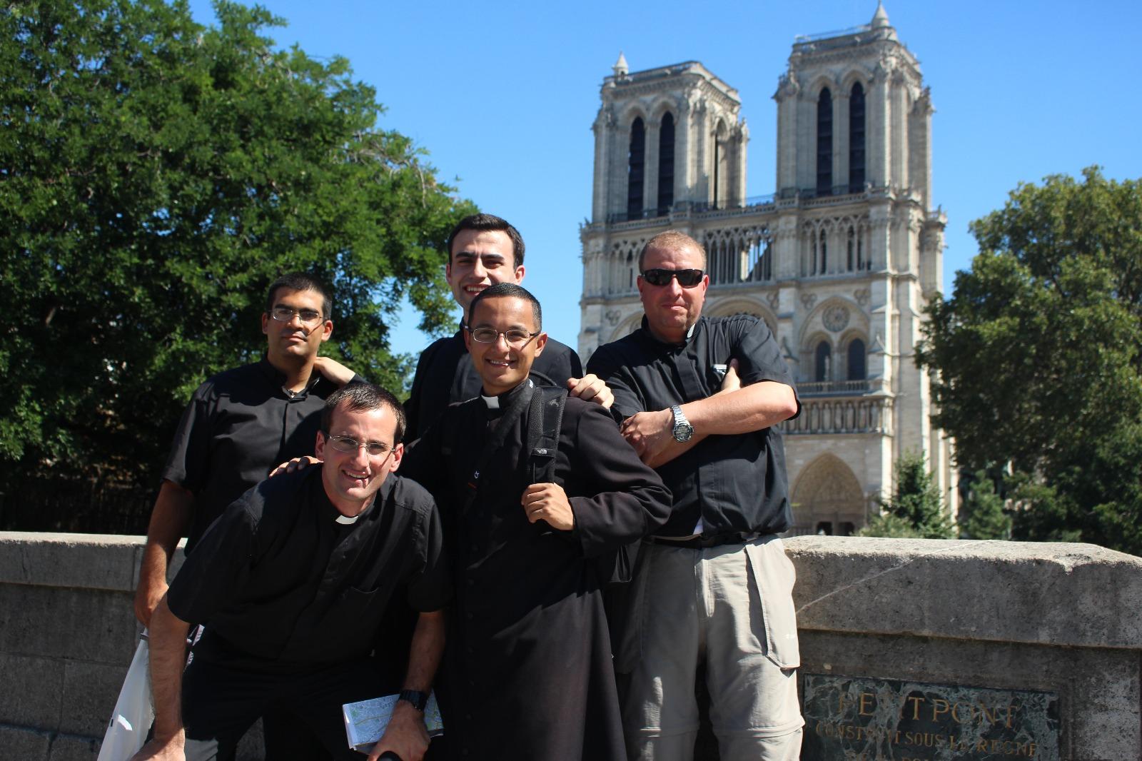 En la catedral de Notre-Dame de Paris