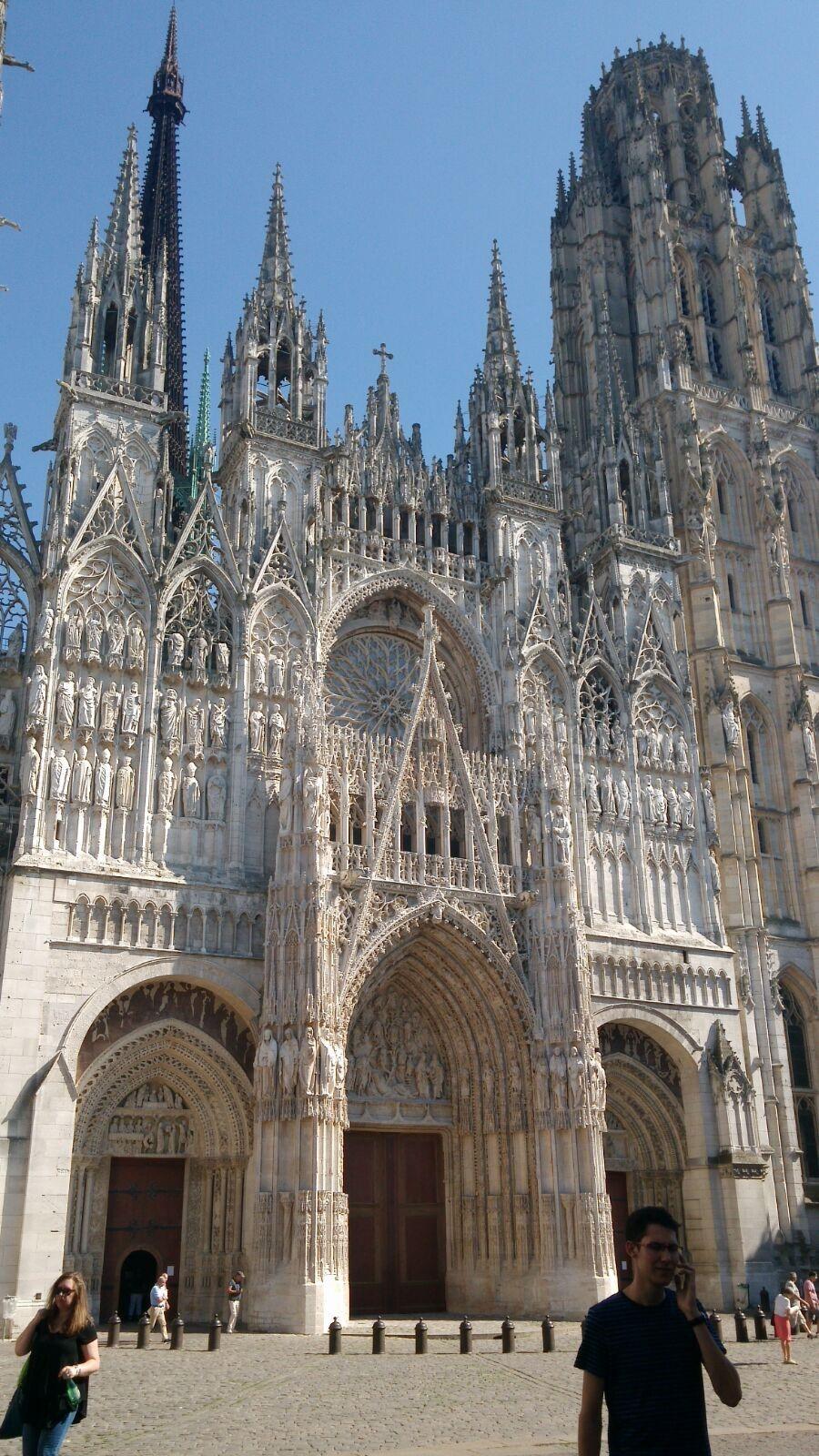 Catedral gótica de Rouen