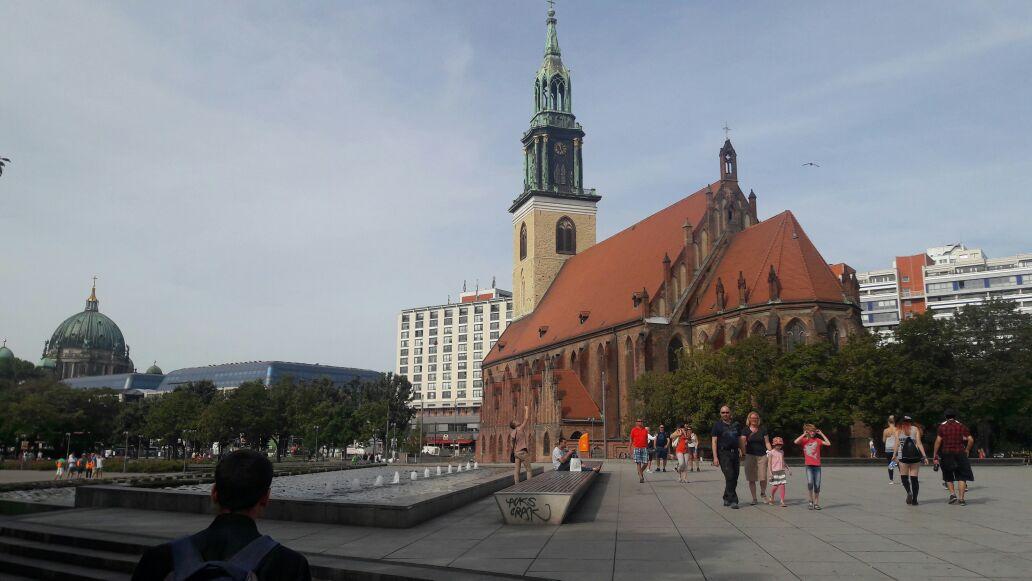 Vista de Berlín (a la izquierda se observa la catedral luterana)