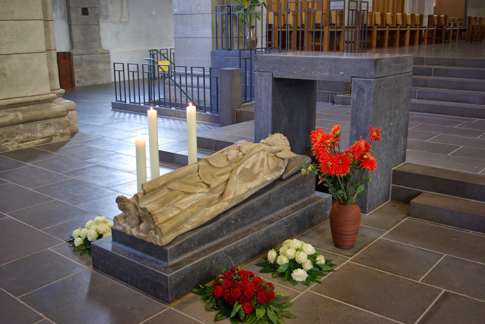 Tréveris: tumba de San Matías Apóstol