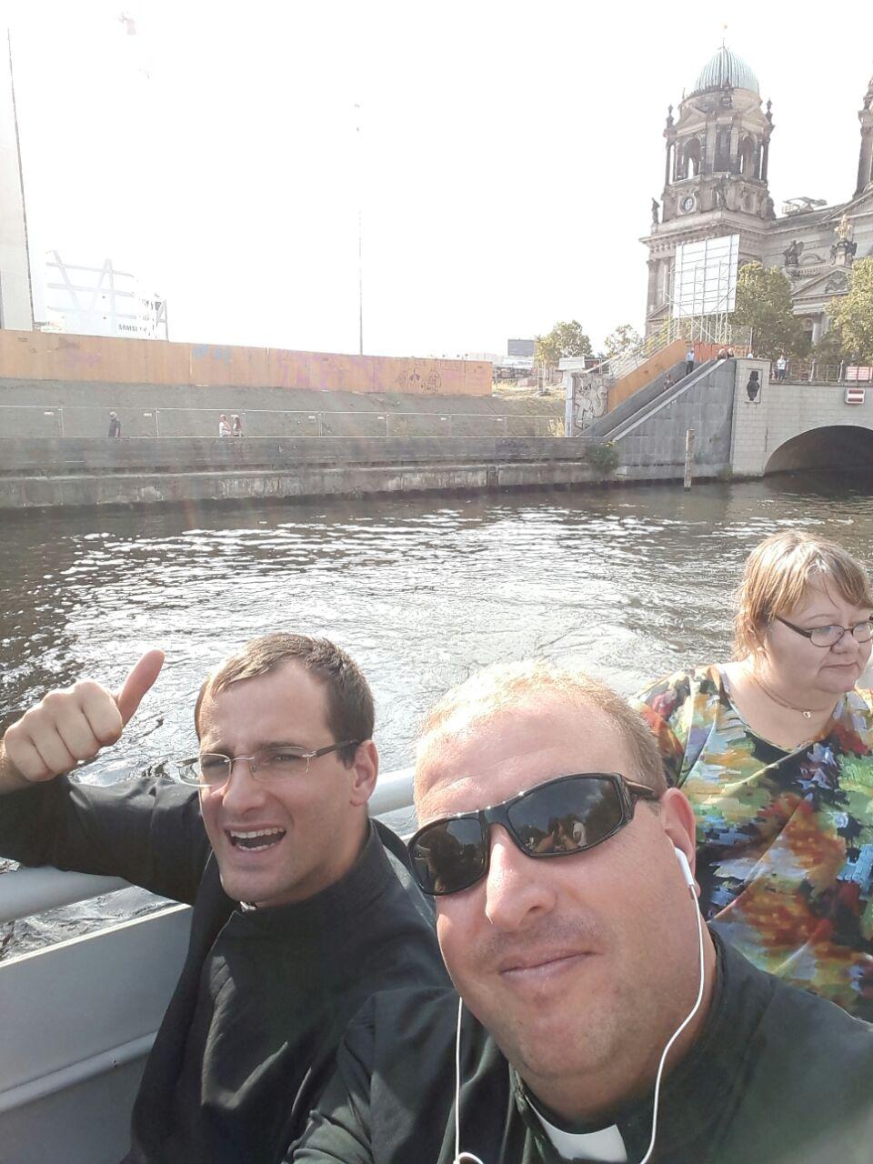 Paseo por el río Spree (Berlín)