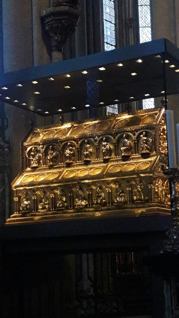 Reliquias de los Reyes Magos en la Catedral