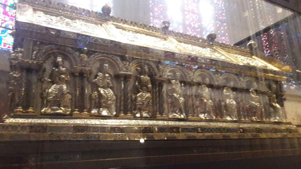 Restos de Carlomagno en la Catedral