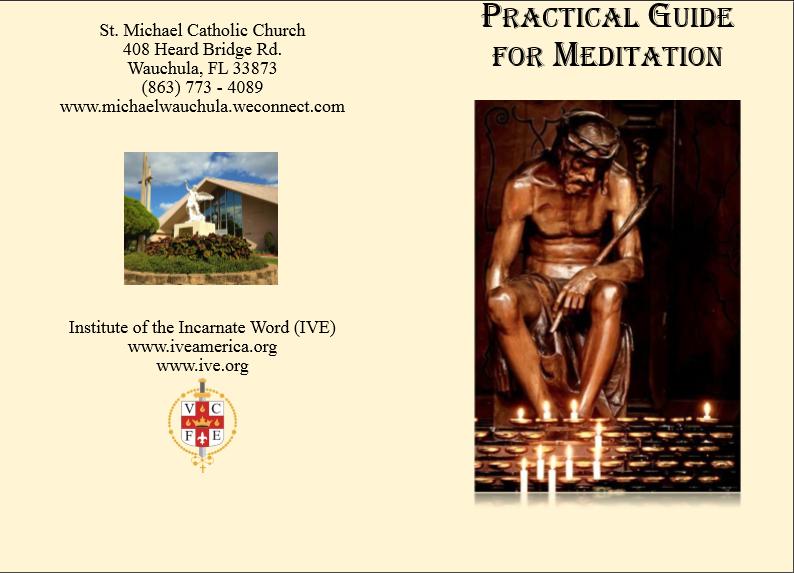 Guía de meditación que preparamos para que la gente aproveche su hora santa