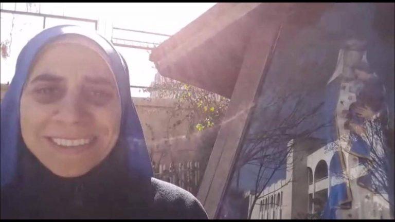 VIDEOS DE LA HERMANA GUADALUPE DESDE SIRIA Y DESPEDIDA DE LA CIUDAD