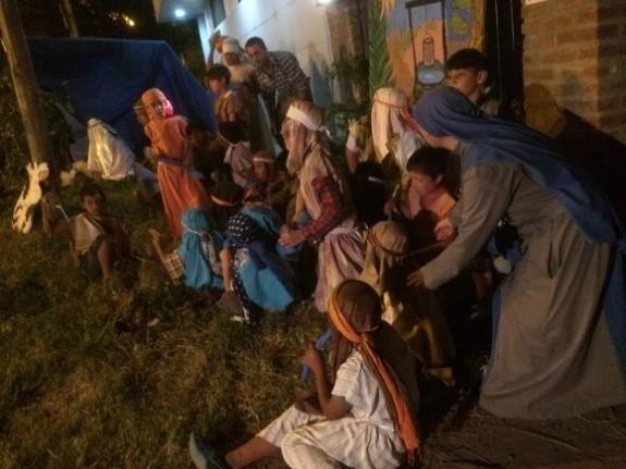 SSVM Tres pesebres vivientes en La Plata - Argentina