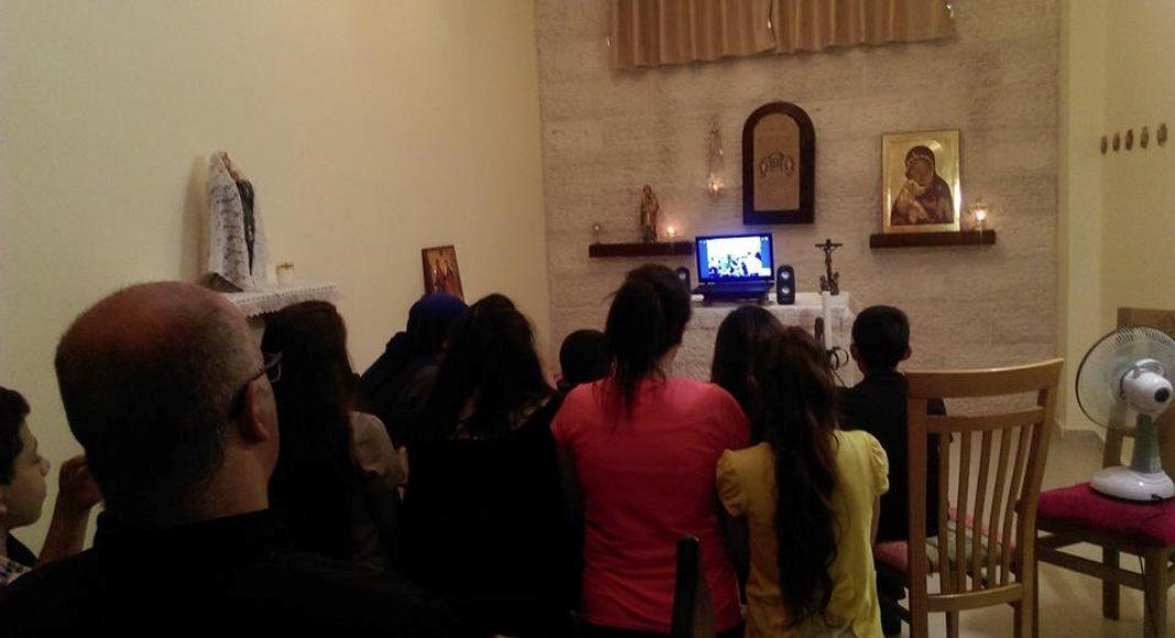 Servidoras-Santo-Rosario-skype-Gaza-Palestina