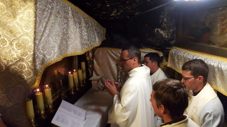 """Peregrinaje de la delegación """"Virgen de Lujan"""" a Tierra Santa"""