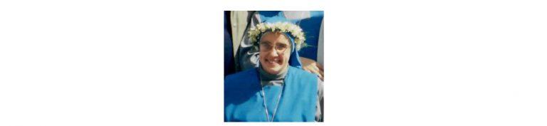 Los últimos momentos vividos con nuestra querida hermana María de Betharram