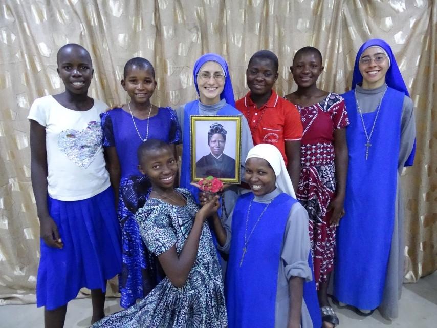 La casa de formación en Tanzania