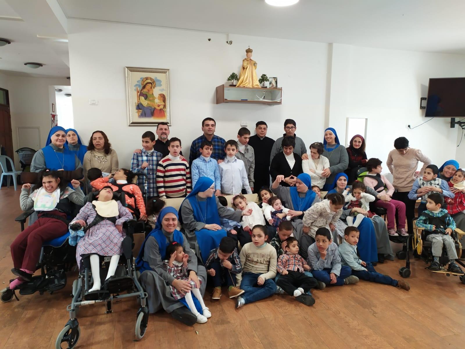 Semana Santa en el Hogar Niños Dios