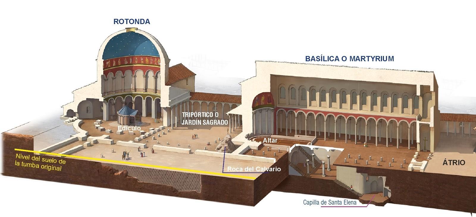 Iglesia del Santo Sepulcro de época Constantiniana (s.IV)