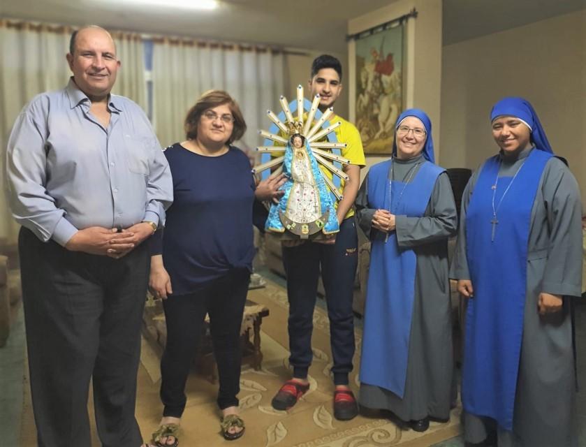 Mes de la Virgen en Gaza