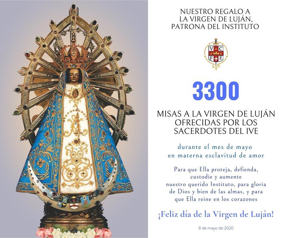 VIRGEN DE LUJÁN - FAMILIA RELIGIOSA DEL VERBO ENCARNADO