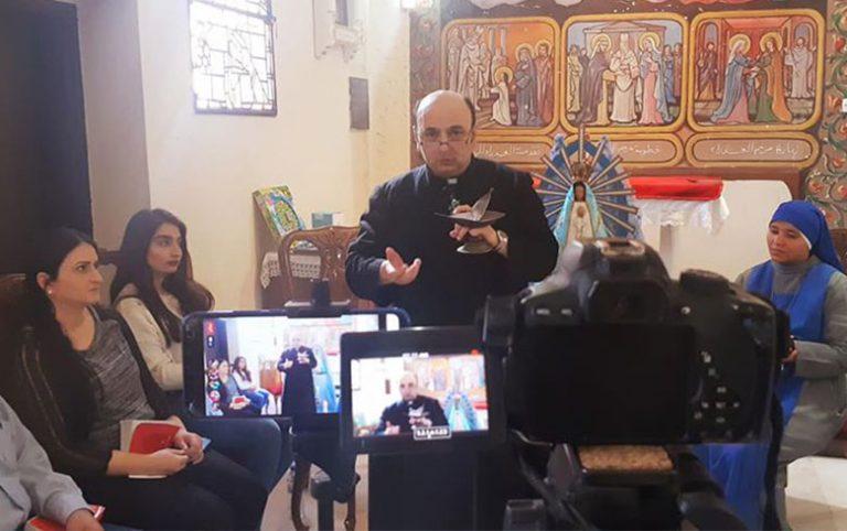 El Oratorio San José de Gaza durante el mes de María