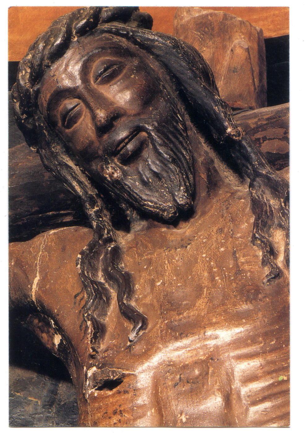 Cristo sonriente de Javier