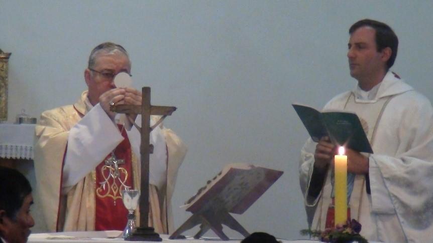 """Fiestas patronales """"Nuestra Señora del Huerto"""", desde el noviciado """"Marcelo Javier Morsella"""" del Instituto del Verbo Encarnado - IVE, en Chile (vocaciones)"""