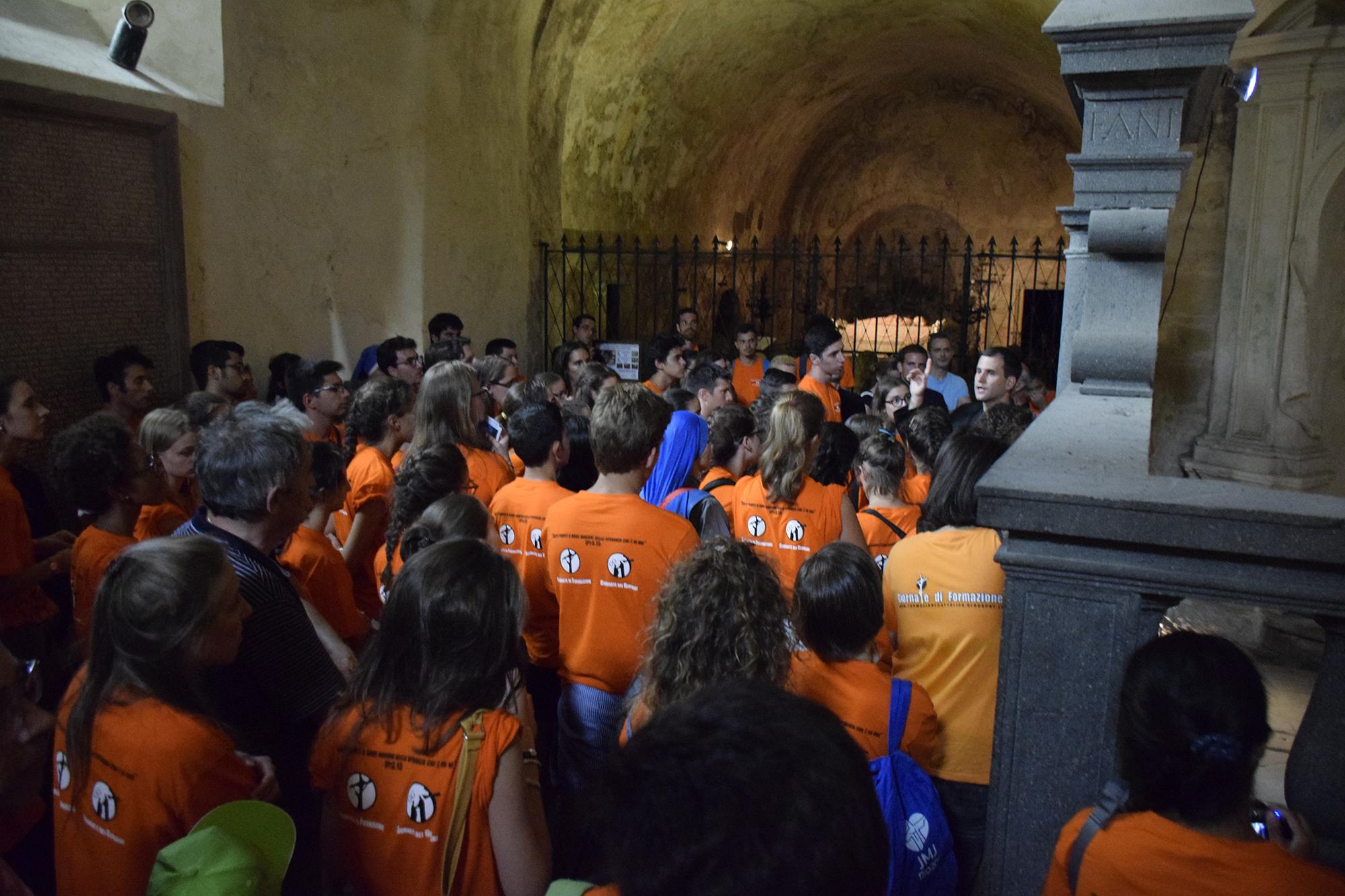 Curso de Universitarios en Italia. Instituto del Verbo Encarnado, IVE