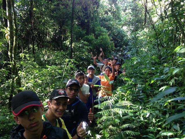 Brasil - Primera montaña de la convivencia del Seminario Menor