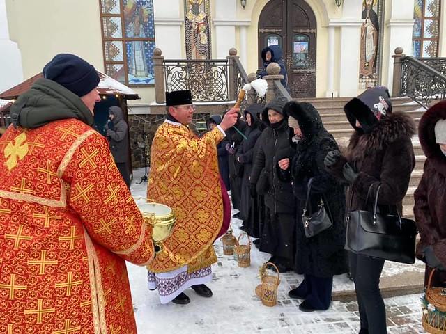 Ucrania - Celebración del Bautismo del Señor