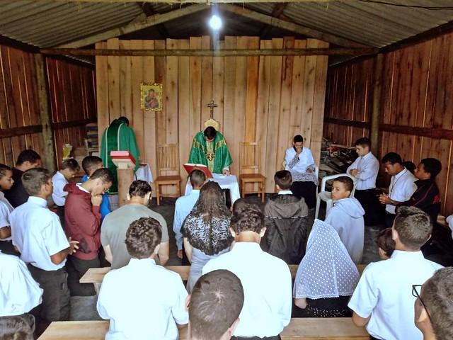 Brasil - Misa y almuerzo con los bienhechores del Seminario Menor