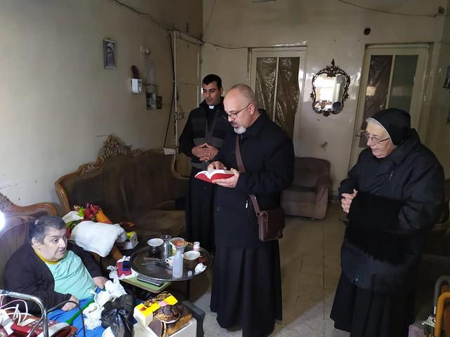 Siria - Visita de casas en Alepo