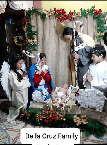 Filipinas - Concurso de representaciones de la Sagrada Familia en la Parroquia Nuestra Señora de Luján