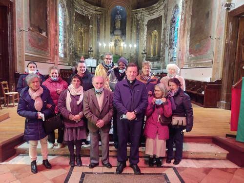 Francia - Misa de acción de gracias por los 20 años de sacristán del Señor André Perret