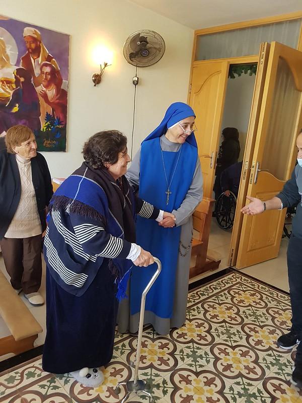 """Egipto - Noticias de la casa de ancianos """"Bet Afram"""" en el Taybe."""