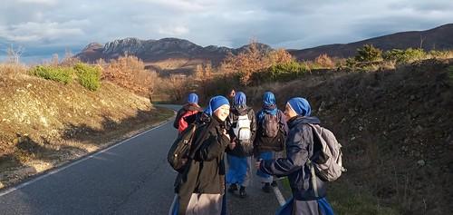Albania - Peregrinación de las hermanas en Albania al Santuario Nacional de la Virgen del Buen Consejo.